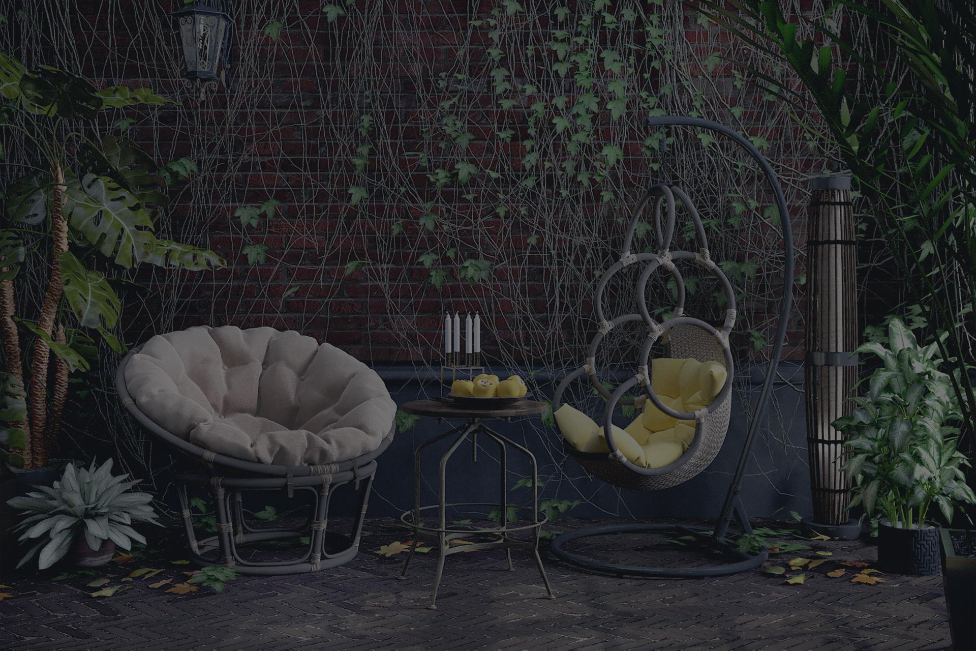 Зимний сад в особняке