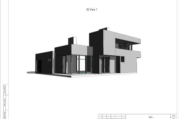 ЛСТК 1 - Sheet - 001 - 3D View 1