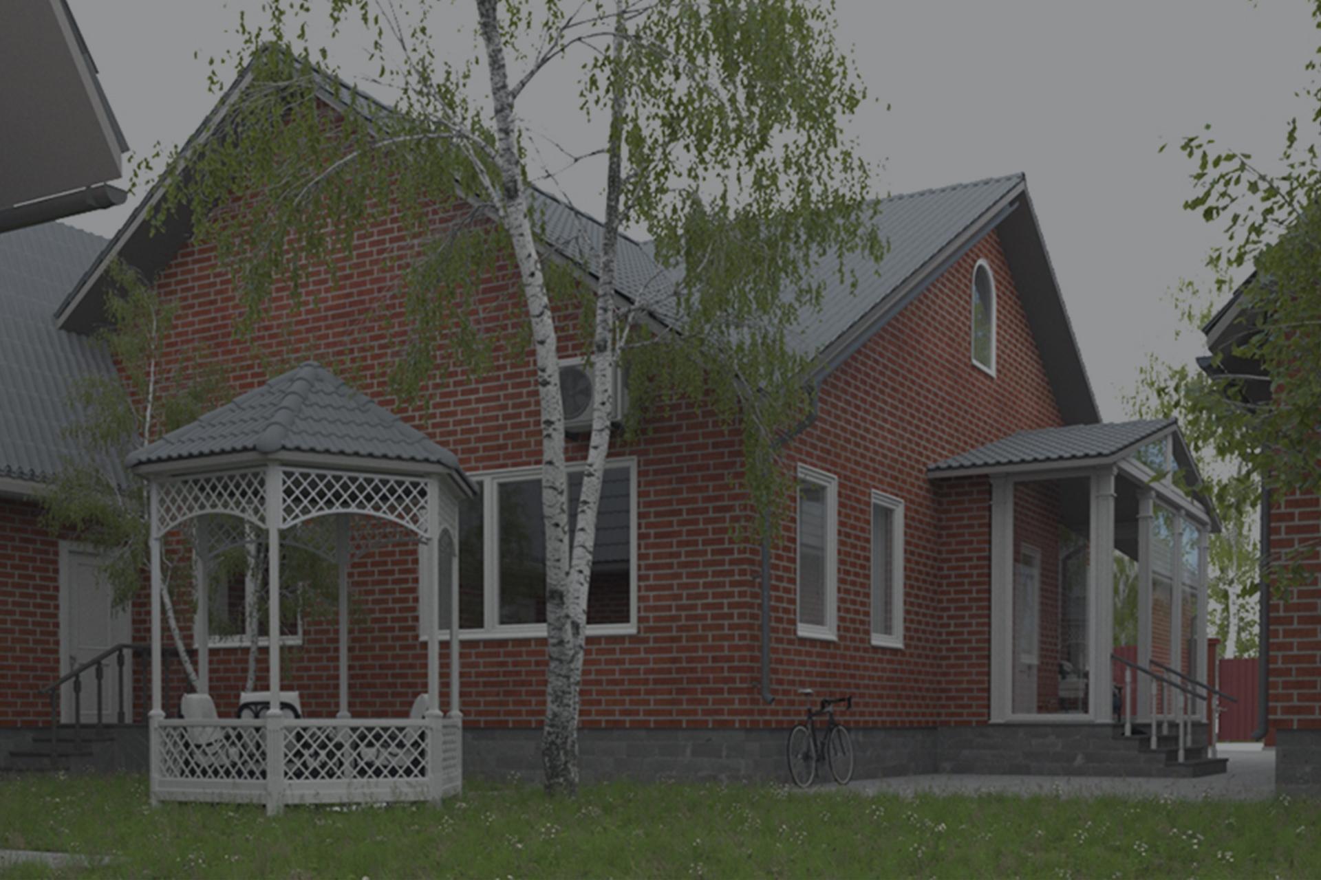Кирпичный домик в Белгороде