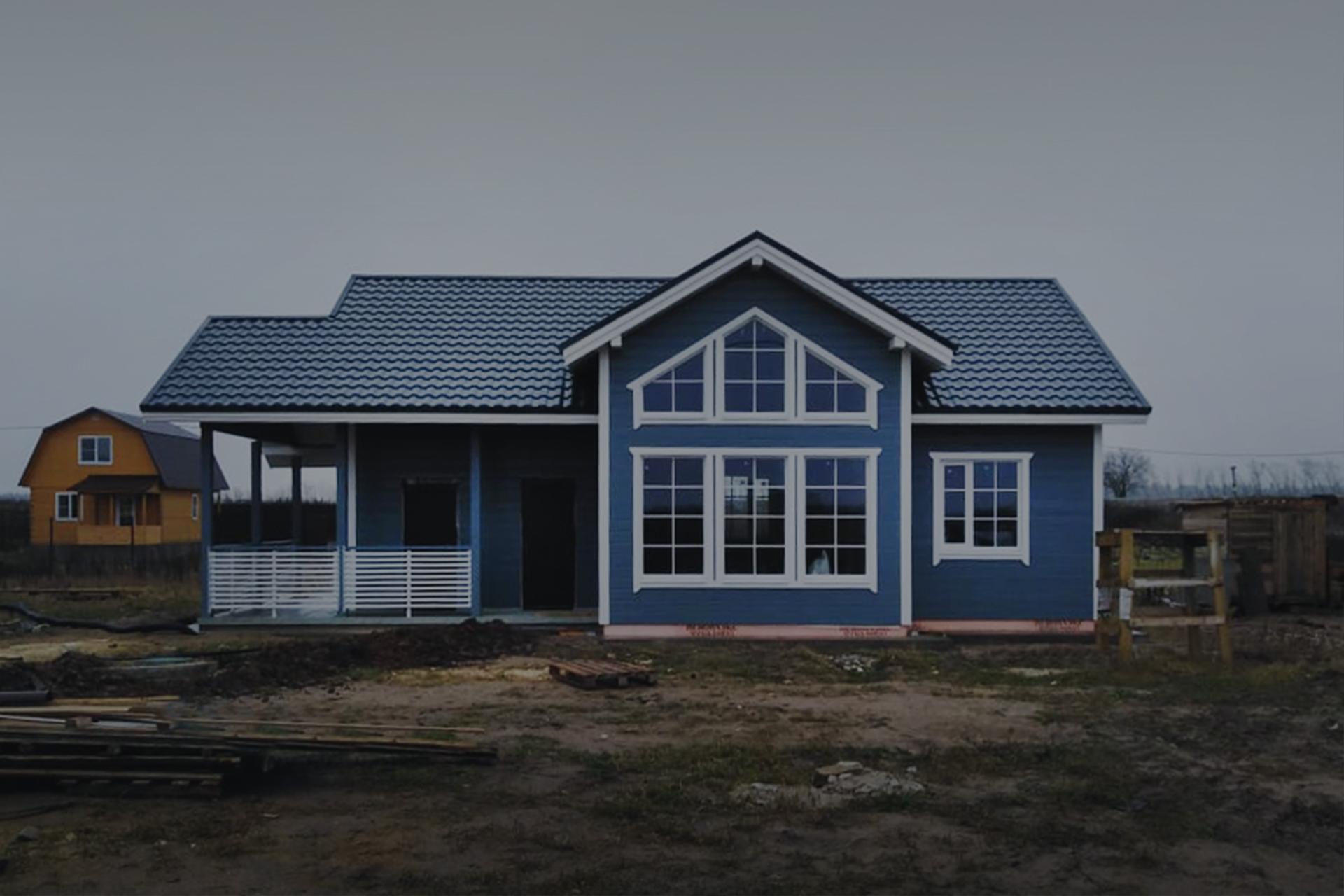 Синий дом в Красном селе